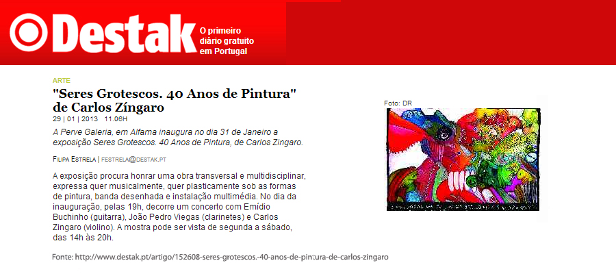 Destak Zingaro 29Jan2013